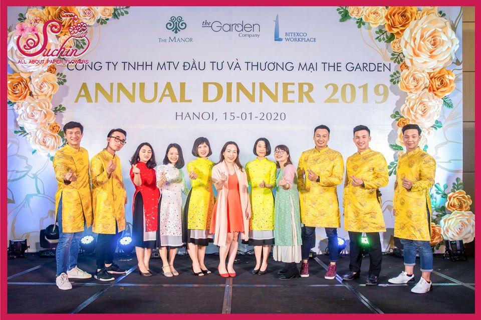 THE GARDEN - ANNUAL DINNER 2019