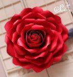 Hoa hồng mút xốp decor sự kiện