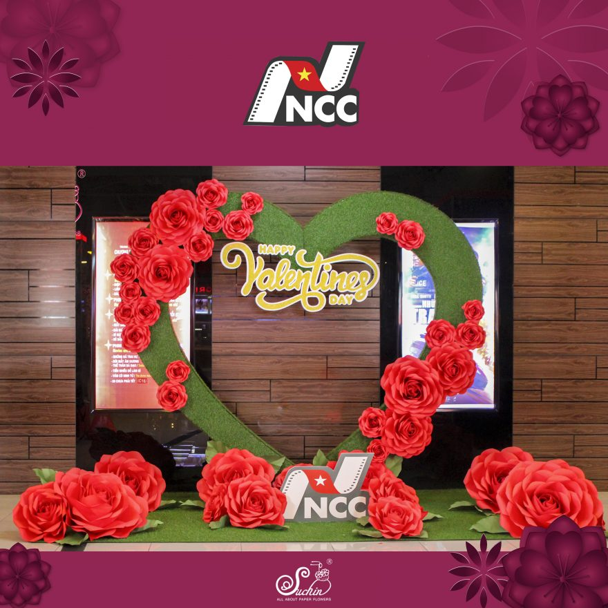 NCC – Trang trí Valentine độc đáo