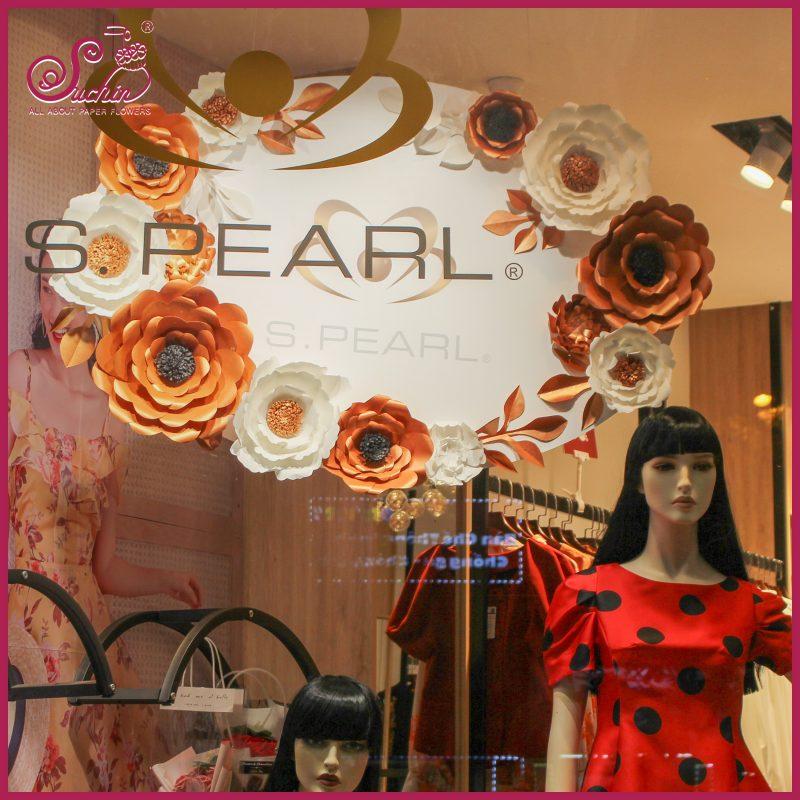 S.PEARL - Logo thương hiệu ấn tượng