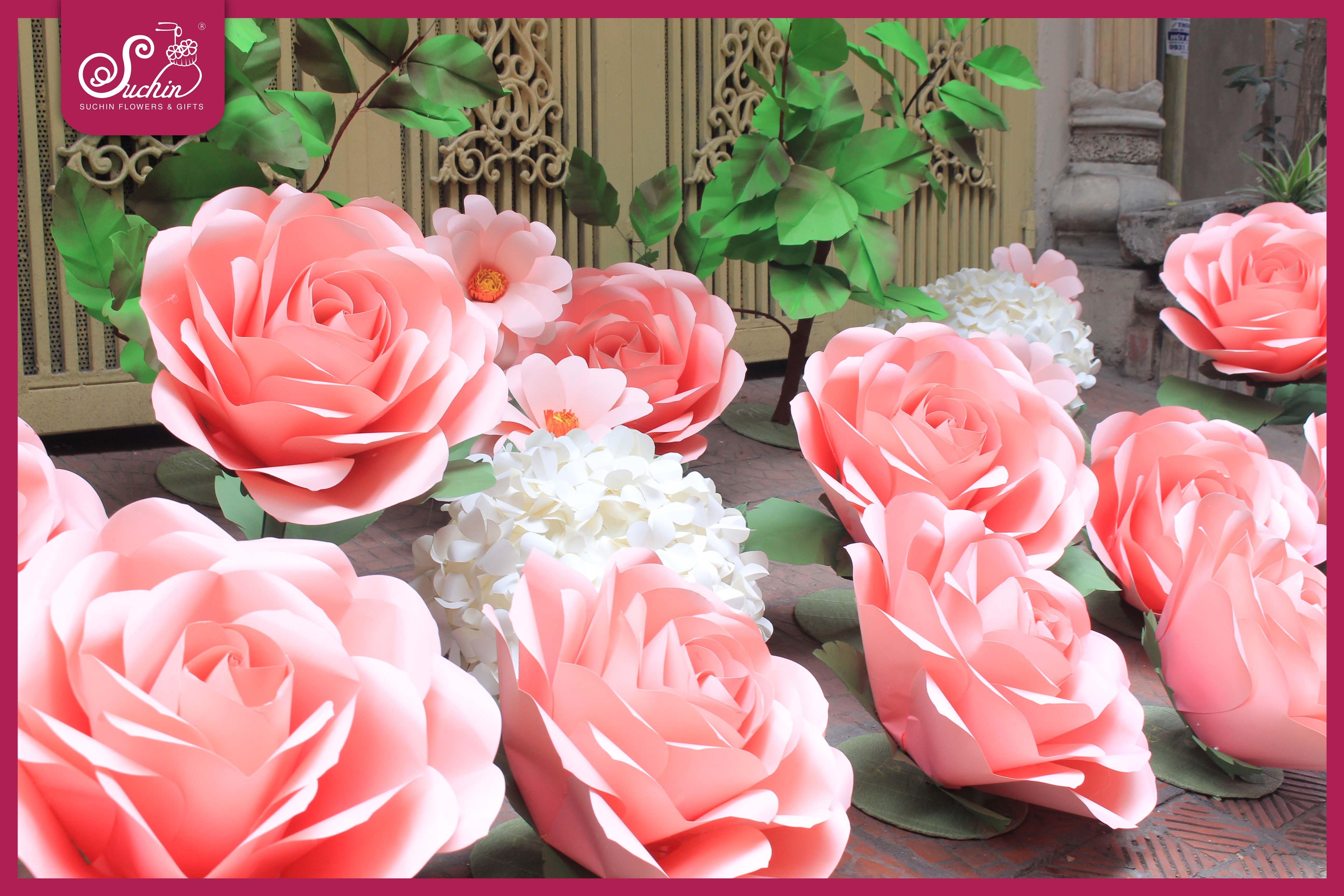 AEON MALL – Cây hoa giấy trang trí ngày gia đình Việt Nam 28/06