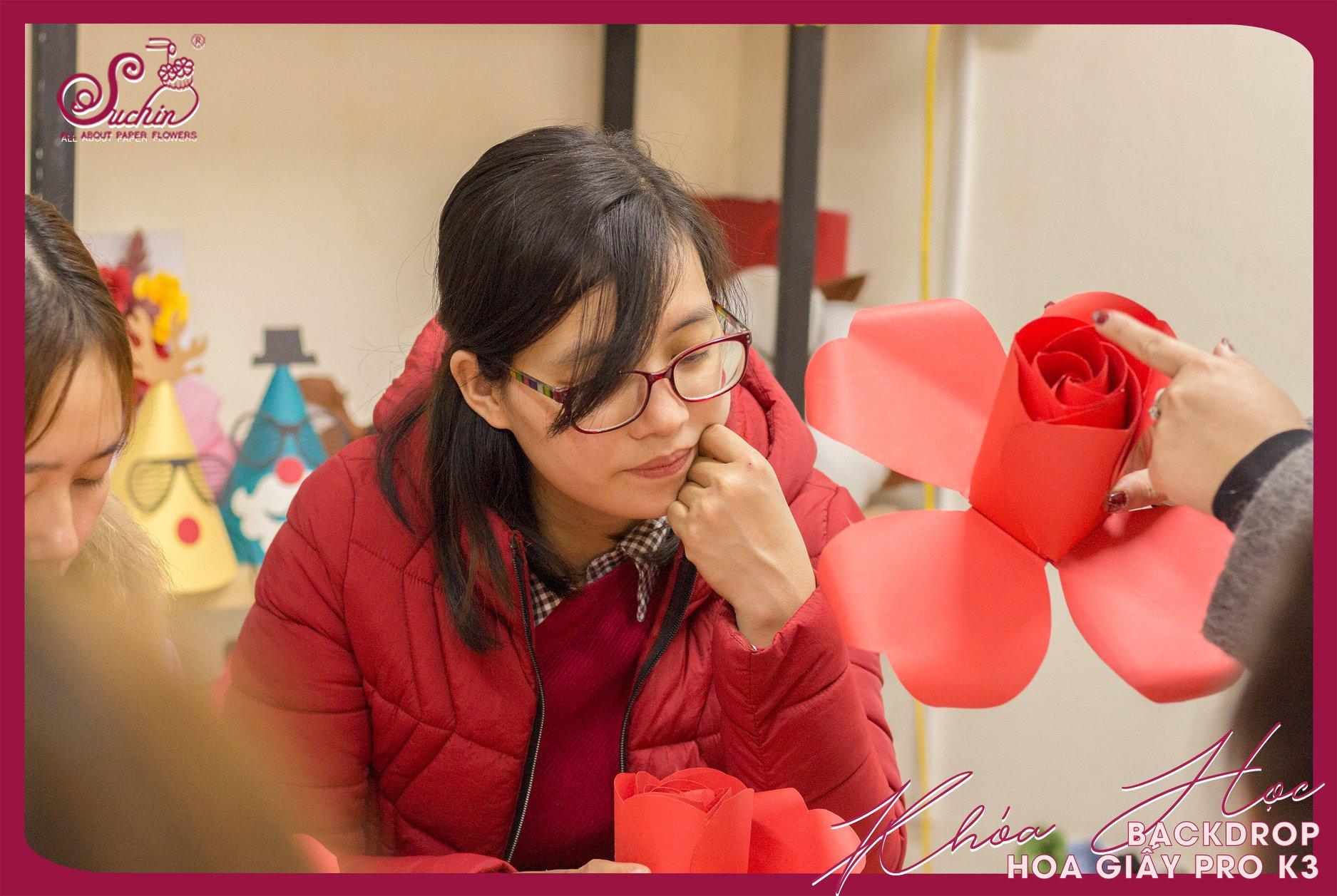 Có gì mới tại Khóa học hoa giấy tổng hợp?