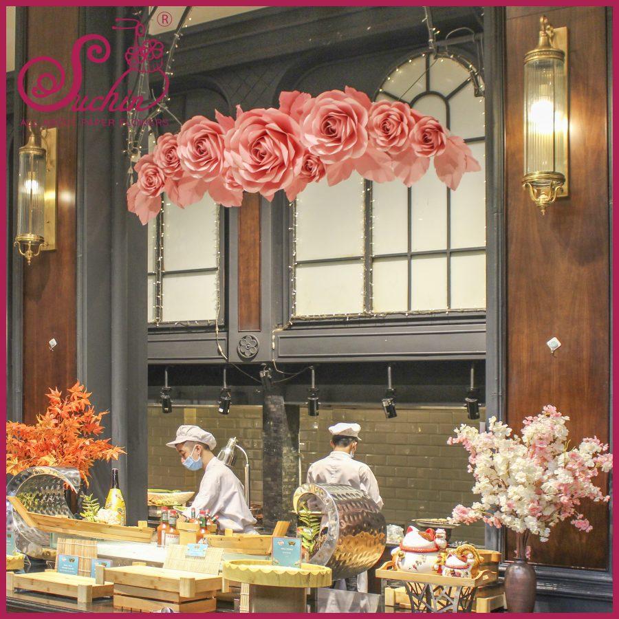 Nhà hàng SEN Lý Thái Tổ – Trang trí không gian nhà hàng tiệc buffet
