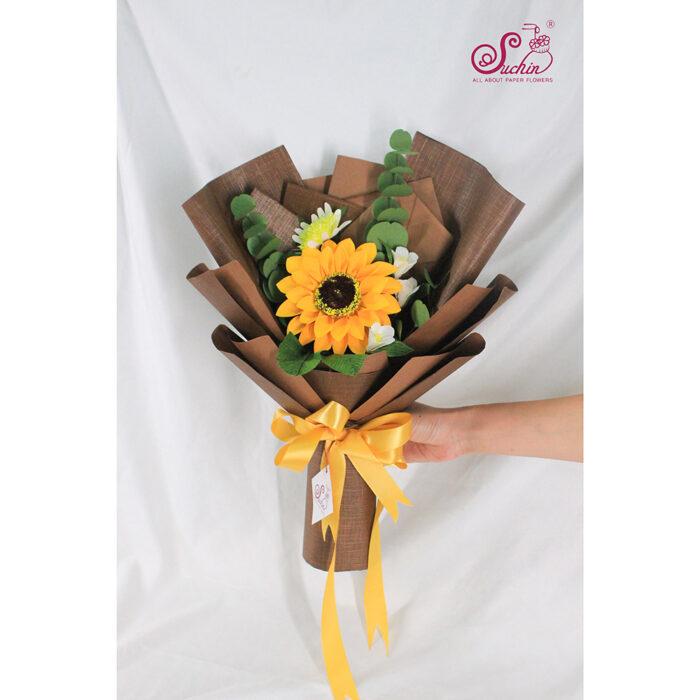 bó hoa tặng tập thể