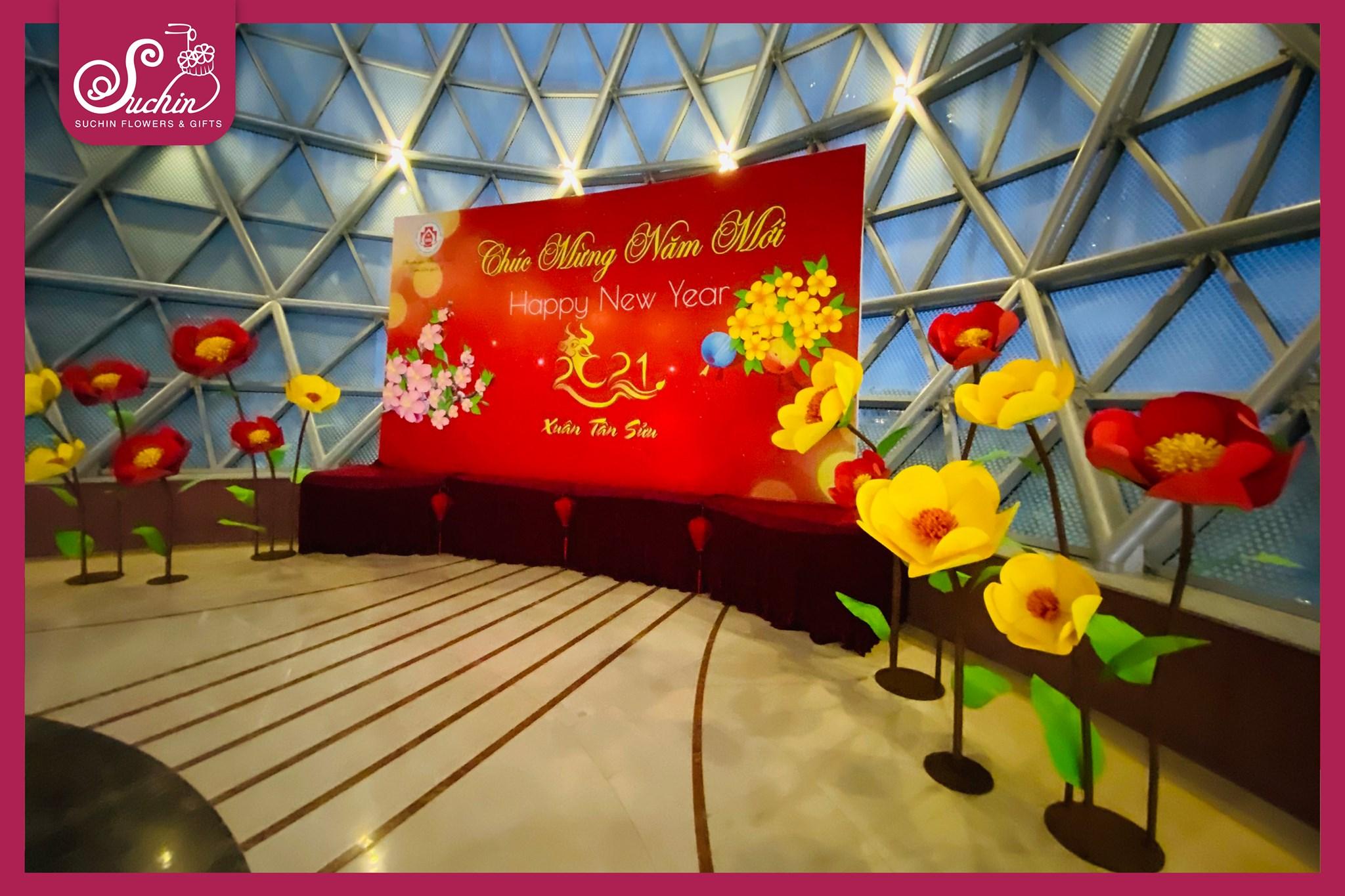 Trang trí sự kiện Hà Nội- lấy cảm hứng từ sự kiện quốc tế