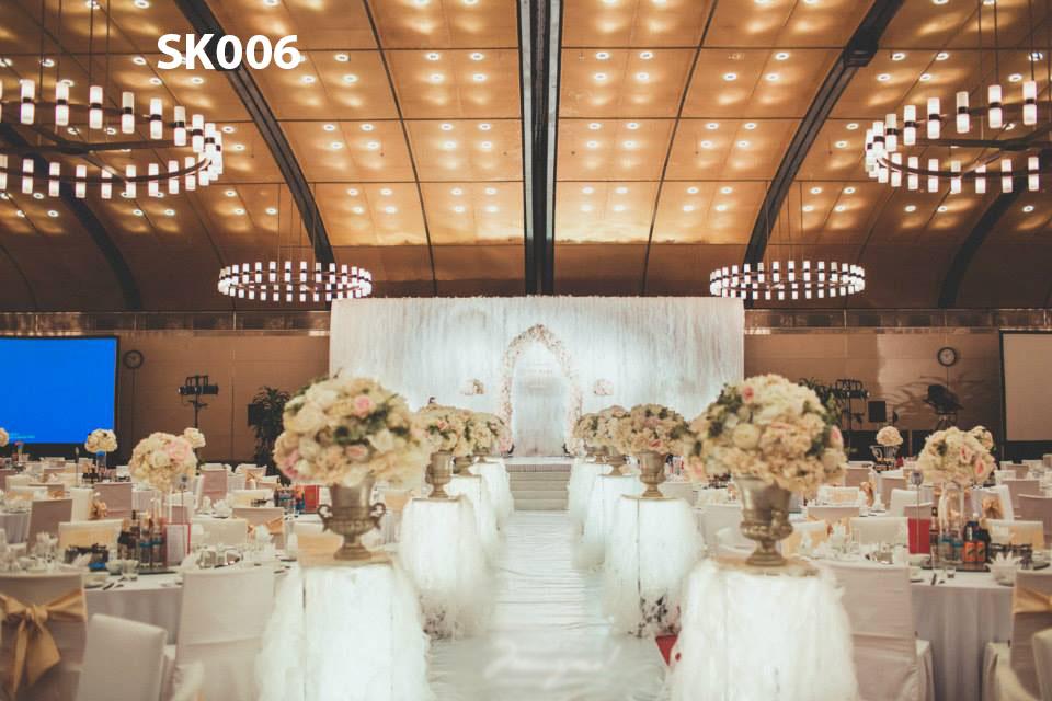Địa chỉ trang trí tiệc cưới tại nhà trọn gói, giá rẻ