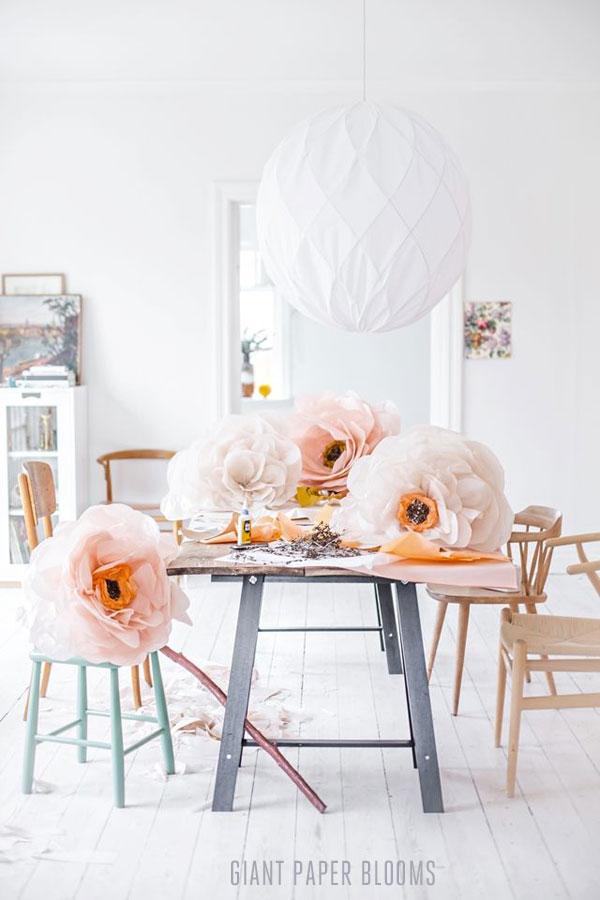 5 điều cần thiết nhất để làm hoa giấy nhún đẹp