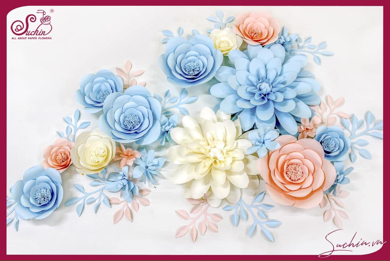 1001 mẫu hoa giấy nghệ thuật ấn tượng chỉ có tại Suchin