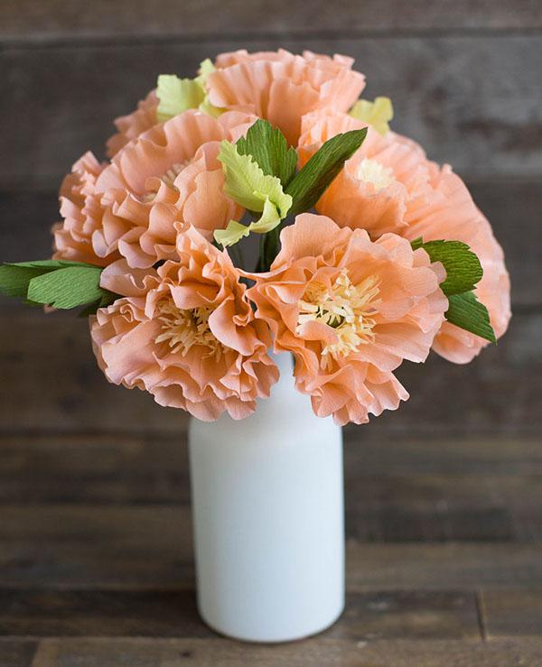 Hướng dẫn làm hoa trang trí nhà đẹp, tinh tế cho mùa đông