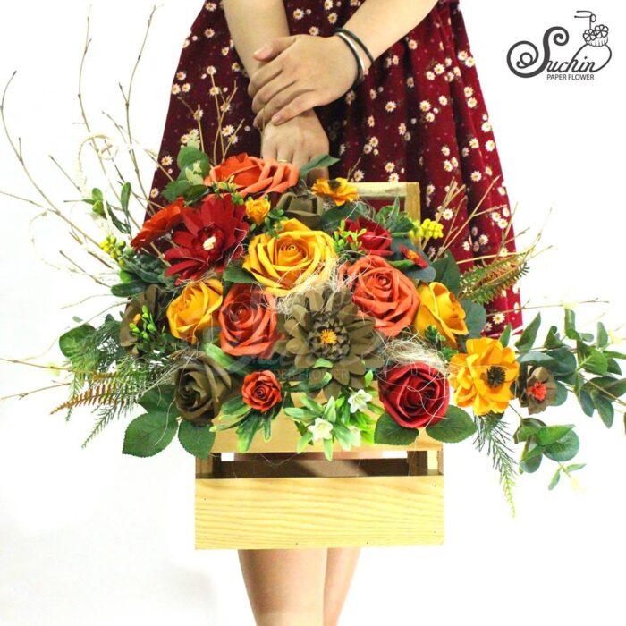 chọn hoa tặng vợ